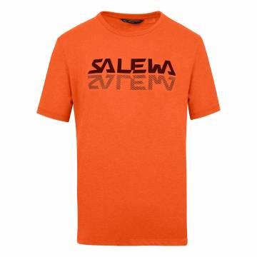 SALEWA REFLECTION DRY CAMISETA HOMBRE RED ORANGE MENALENGE