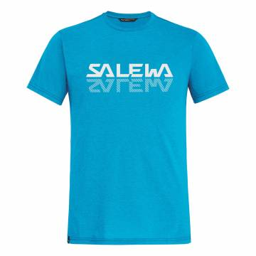 SALEWA REFLECTION DRY CAMISETA HOMBRE BLUE DANUBE MELANGE
