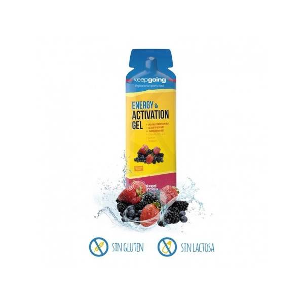 KEEP GOING - ENERGY & ACTIVATION GEL FRUTAS DEL BOSQUE