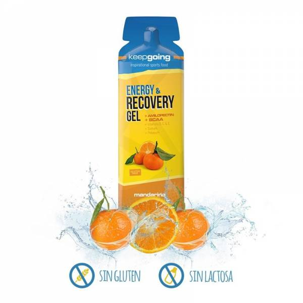 KEEP GOING - ENERGY & RECOVERY GEL MANDARINA