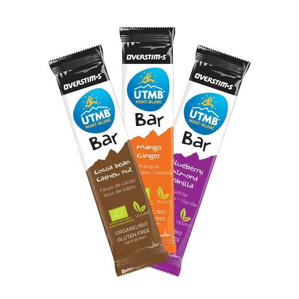 OVERSTIMS - UTMB BAR - CHOCOLATE/ANARCADO