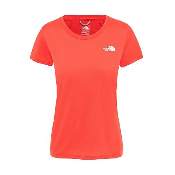 THE NORTH FACE CAMISETA MUJER REAXION AMPERE ROJO