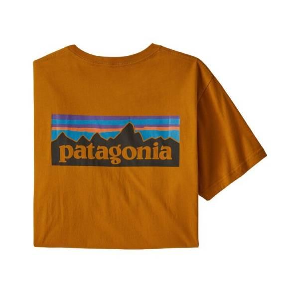 PATAGONIA ORGANIC COTTON P-6 LOGO CAMISETA HOMBRE