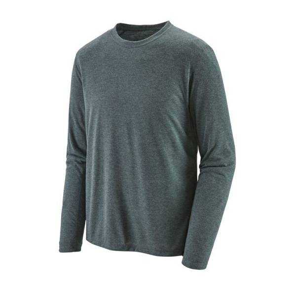 PATAGONIA LONG-SLEEVED CAPILENE COOL TRAIL CAMISETA HOMBRE