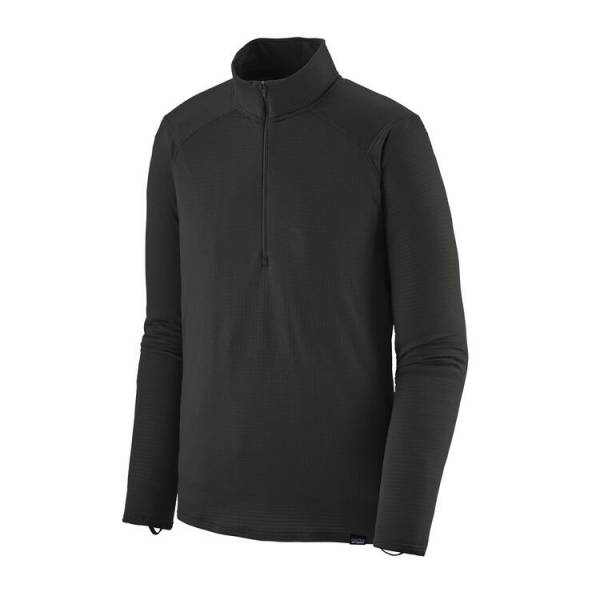 PATAGONIA CAPILENE THERMA WEIGHT ZIP NECK NEGRO CAMISETA HOMBRE