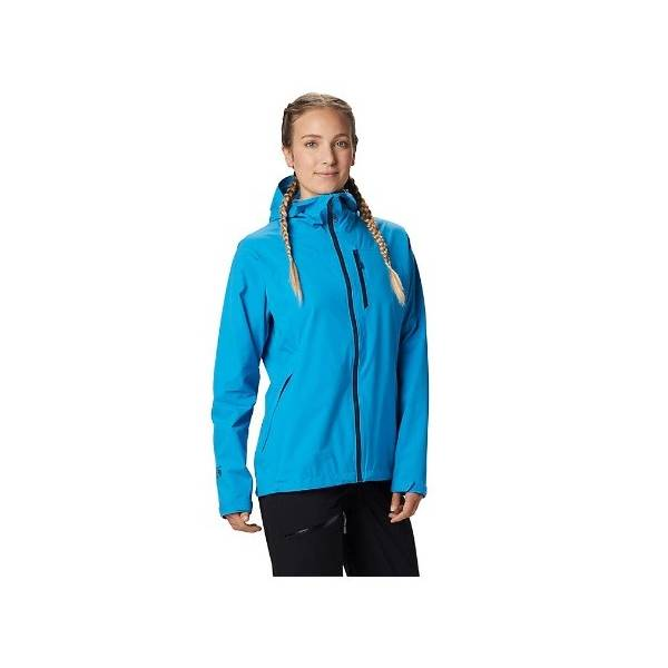 MOUNTAIN HARD WEAR STRETCH OZONIC JACKET IMPERMEABLE MUJER