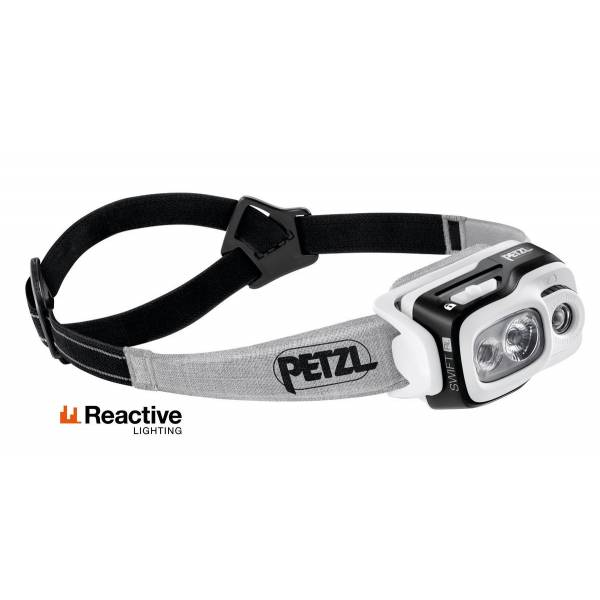 PETZL FRONTAL SWIFT RL NEGRO