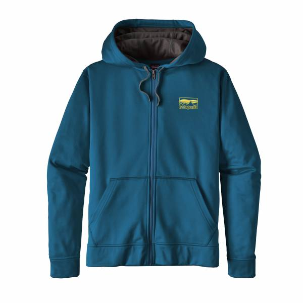 MS 73 LOGO POLYCYCLE FULLZIP HOODY
