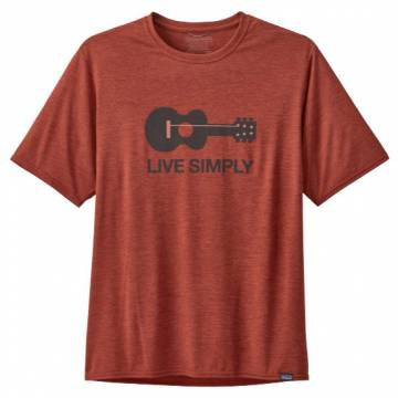 PATAGONIA CAPILENE COOL DAILY GRAPHIC CAMISETA HOMBRE ROOTS RED