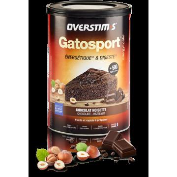 OVERSTIMS GATOSPORT PASTEL ENERGÉTICO 400GR SABOR CHOCOLATE AVELLANAS